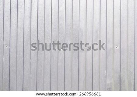 aluminum panels background - stock photo