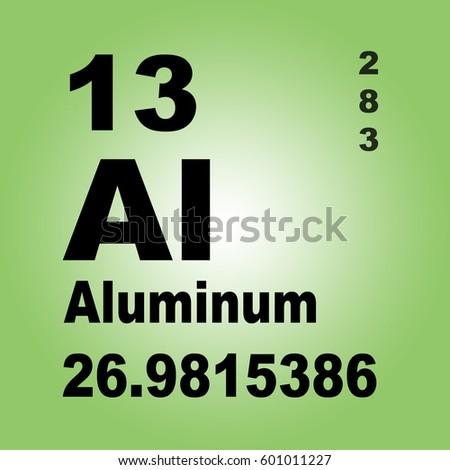 Aluminum periodic table elements stock illustration 601011227 aluminum periodic table of elements urtaz Gallery