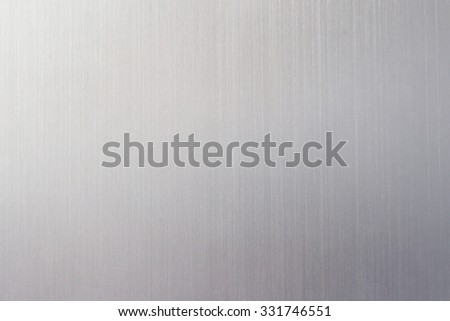 Aluminum sheet texture with reflection, metal background, abstract sliver background for luxury product  - stock photo