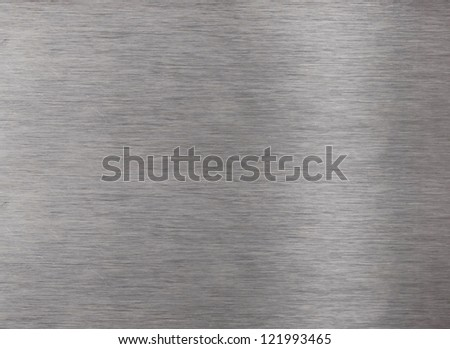 Aluminum shiny surface for background - stock photo