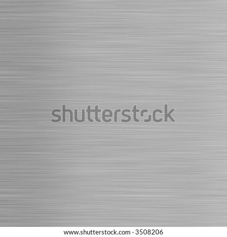 aluminum silver background - square format - stock photo