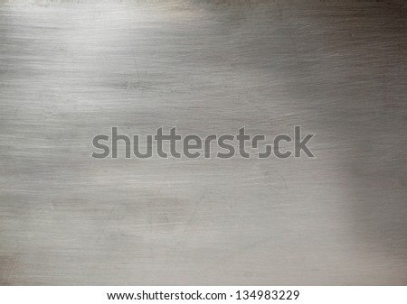 Aluminum surface - stock photo