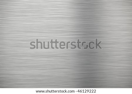 Aluminum texture - stock photo