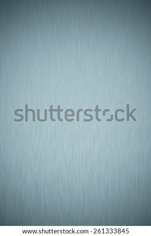 Aluminum texture background with blue - stock photo