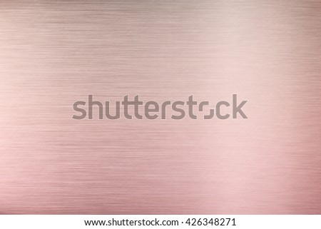 Aluminum texture background with rose gold , metal  texture background with rose gold - stock photo