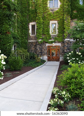 Alumni Memorial Building on the campus of Lehigh University in Bethlehem, Pennsylvania - stock photo