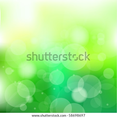 Always Go Green Slogan Background for environmental Brochures - stock photo