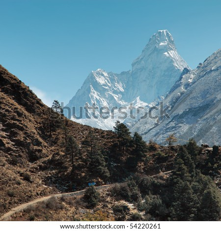 Ama-Dablam - stock photo