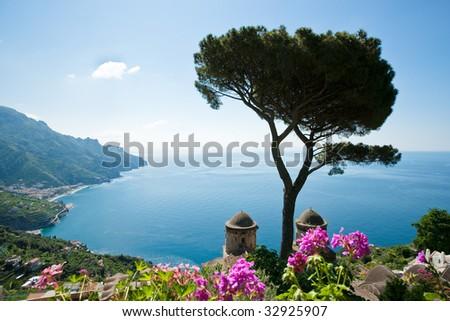 Amalfi coast - stock photo