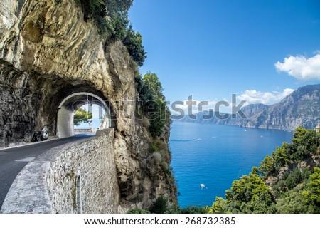Amalfi Coast, Italy - stock photo