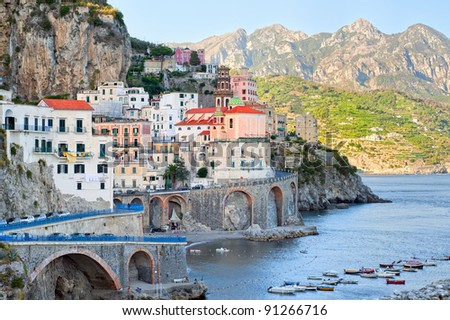 Amalfi, Italy - stock photo