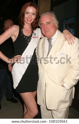 "Amanda Fields and Clement von Franckenstein  at the world premiere screening of ""No Bad Days"". Egyptian Theatre, Hollywood, CA. 07-08-08 - stock photo"