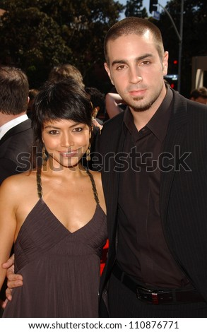 Amanda Rodriguez and Wade J. Robson at the 2007 Primetime Creative Arts Emmy Awards. Shrine Auditorium, Los Angles, CA. 09-08-07