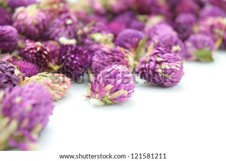 Amaranth flower tea