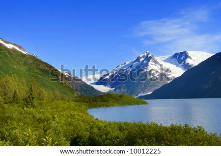 Amazing Alaska - stock photo
