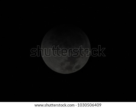 Amazing beautiful background night moon view in dark.