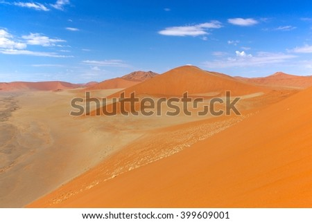 amazing dunes in the namib naukluft national park namibia