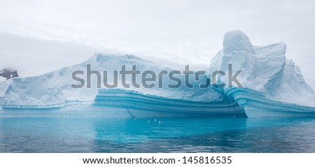 Amazing Icebergs - stock photo