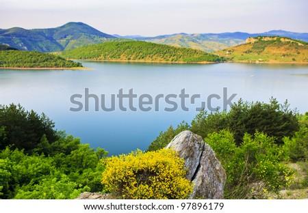 amazing landscape view - stock photo
