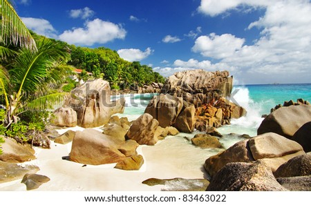 amazing nature of Seychelles islands