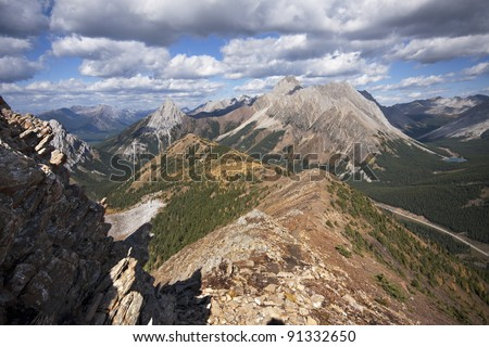 Ridge Hike Kananaskis Amazing Pocaterra Ridge Hike