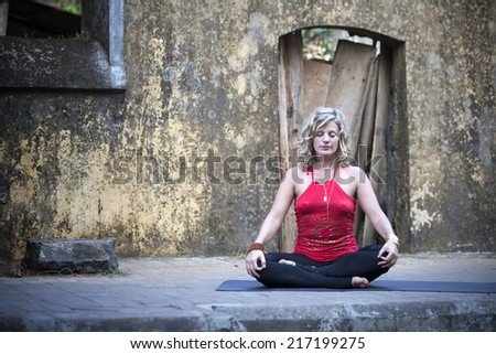 Amazing Yoga - stock photo