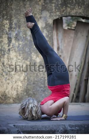 Amazing Yoga - stock photo