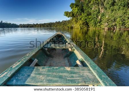 Amazon river. - stock photo