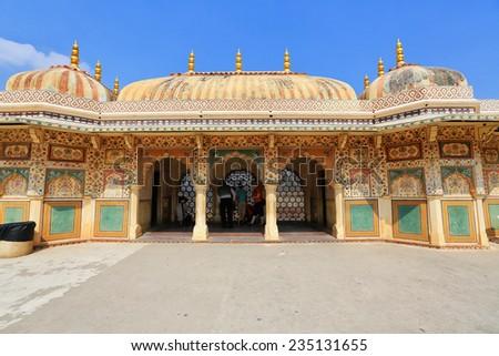 Amber Fort palace, Jaipur, India - stock photo