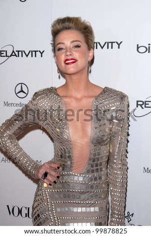 "Amber Heard at the 2011 Art Of Elysium ""Heaven"" Gala, Annenberg Bldg., California Science Center, Los Angeles, CA. 01-15-11"