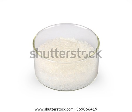 amber pellets - stock photo