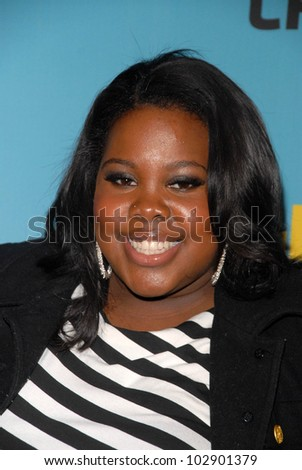 "Amber Riley at Fox's ""Glee"" Spring Premiere Soiree, Bar Marmont, West Hollywood, CA. 04-12-10"