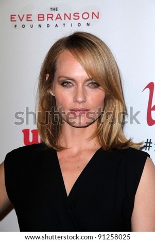 Amber Valletta at the 5th Annual Rock The Kasbah Fundraising Gala, Boulevard 3, Hollywood, CA 11-16-11