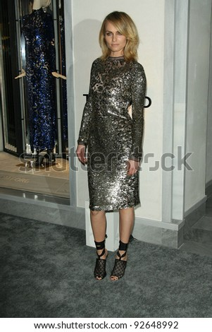 Amber Valletta at the Tom Ford Beverly Hills Store Opening, Tom Ford, Beverly Hills, CA. 02-24-11