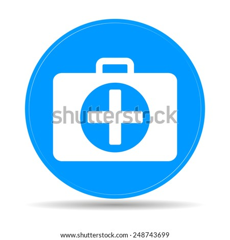 ambulanse icon  - stock photo