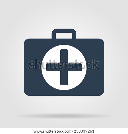 ambulanse icon  icon. Flat illustrator  - stock photo