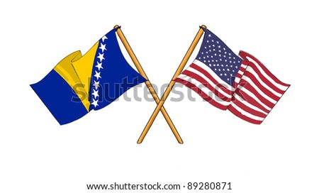 America and Bosnia and Herzegovina - alliance and friendship