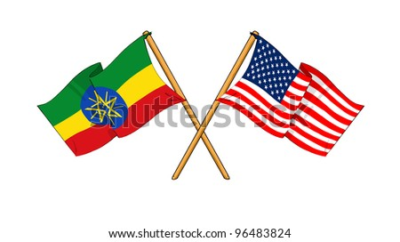America and Ethiopia alliance and friendship