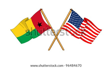 America and Guinea-Bissau alliance and friendship