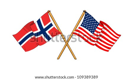 America and Norway alliance and friendship