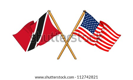 America and Trinidad and Tobago alliance and friendship