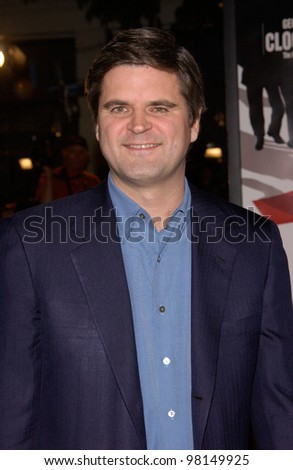 America Online founder STEVE CASE at the world premiere, in Los Angeles, of Ocean's Eleven. 05DEC2001.  Paul Smith/Featureflash - stock photo