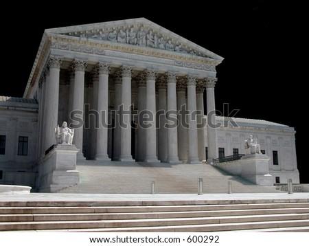 America's Supreme Court - stock photo