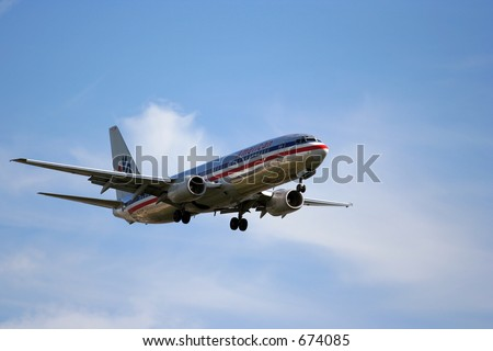 American Airlines - stock photo