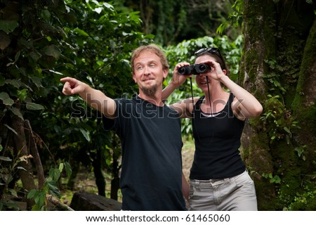 American and European Tourists Exploring Costa Rica