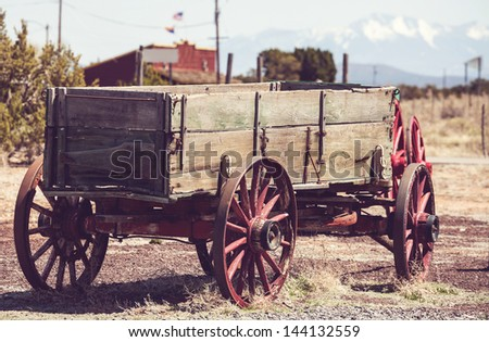 american cart - stock photo