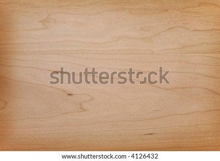 American cherry wood texture background. Close up view - stock photo