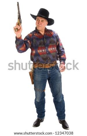 American Cowboy. - stock photo
