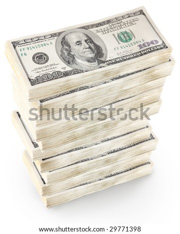 american dollars - stock photo