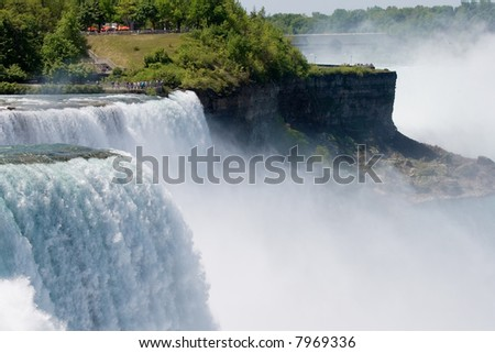 American Falls in New York - stock photo